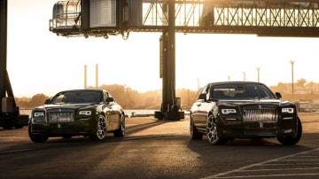Rolls-Royce Wraith and Ghost Black Series.