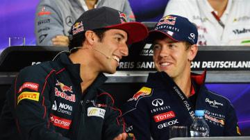 F1: Ricciardo Thinks Vettel Yet To Peak
