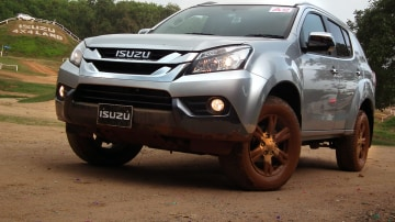 2014 Isuzu MU-X Review