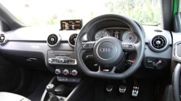 The Audi S1's cabin