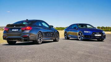 BMW M4 CS vs Audi RS5