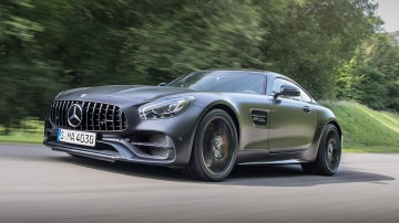 Mercedes-AMG has celebrated its 50th anniversary with a special-edition GT coupe.