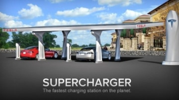 Tesla Announces Supercharging Station Milestone For US West Coast