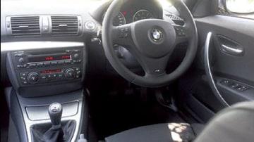 BMW 130i Sport interior