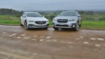 Crossover Crossroads - Holden Calais V Tourer v Subaru Outback 3.6R Comparison Test