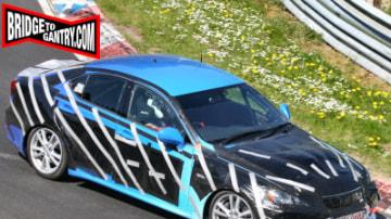 Lexus testing new IS performance sedan?
