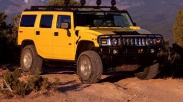2003 Hummer H2 SUV. X03HM_H2133H