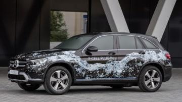 Mercedes-Benz GLC F-Cell plug-in hybrid.