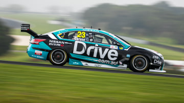 Drive Racings's Michael Caruso in action at Phillip Island
