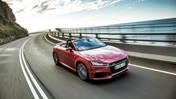 New Audi TT Roadster is an even better sports car than before.