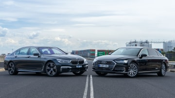 Audi A8L versus BMW 740Li Head to Head Review