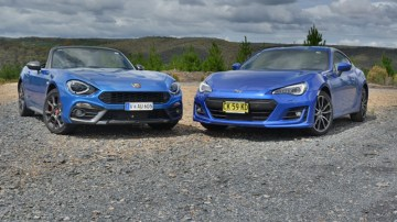 Slightly Sporty Two Doors - Subaru BRZ v Abarth 124 Spider Comparison Review