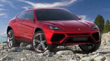 Revealed: Lamborghini Urus SUV