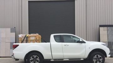 2016 Mazda BT-50 Freestyle cab chassis.
