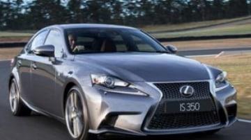 Lexus IS pricing announced