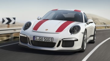 The success of cars like the hardcore Porsche 911 R have helped the company decide to continue offering manual transmissions.