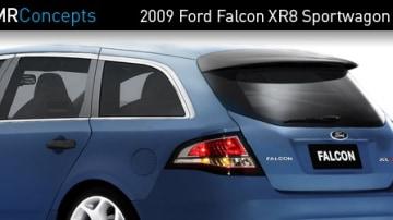 Next For Ford Australia: Falcon Sportwagon Spotted At TMR