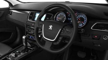 Inside the 2016 Peugeot 508.