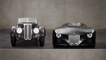 BMW 328 Hommage Pays Tribute To 30s Original