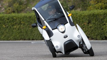 Toyota i-Road Review: We Drive Toyota's Quirky Three-wheeler Concept