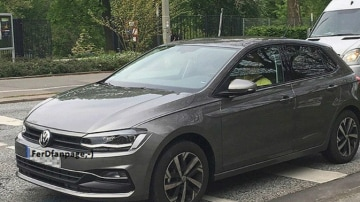 2018 Volkswagen Polo Spied In The Metal