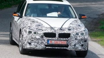 Caught! BMW's new 3-Series