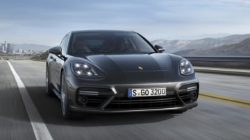 Porsche's new Panamera features technology that can scan the road ahead.