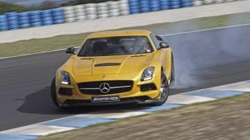Mercedes-AMG SLS Black Series.