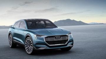 Audi showed off its new electric Q6 e-tron quattro concept.