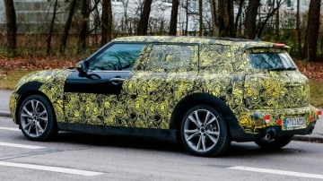 New Mini Clubman has been seen testing. Source: Automedia.