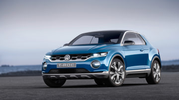 Volkswagen previews new Toyota C-HR rival