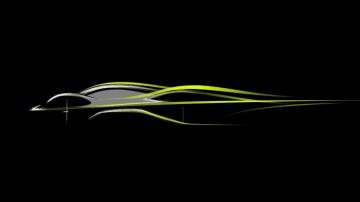 Aston Martin AM-RB 001 sketch.