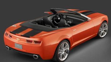 2007 Chevy Camaro Convertible concept.
