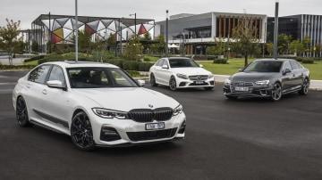 Luxury sedan comparison: BMW 330i v Mercedes-Benz C300 v Audi A4 45TFSI