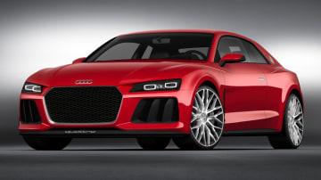 Audi Sport Quattro Concept Gets LaserLight Show For CES 2014