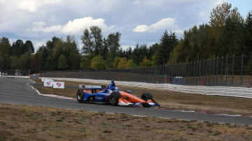 Scott Dixon topped the Portland open test.