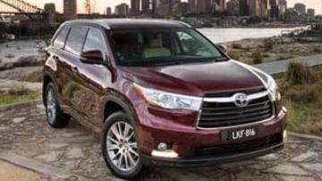 Toyota Kluger Grande AWD new car review