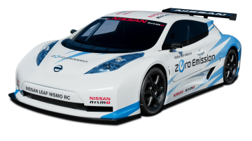 Nissan LEAF Race Car To Debut In 2011