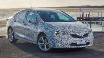 2017 Holden Astra sedan prototype review