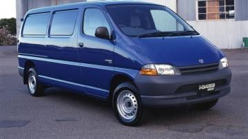 1999 Toyota Hiace SBV wheelbase 1999 Toyota HiAce van