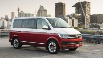 2016 Volkswagen Multivan evokes the spirit of the famous Kombi.