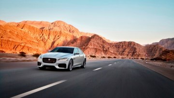 New Jaguar: The British brand hopes its latest generation XF (pictured) and smaller XE will change minds.