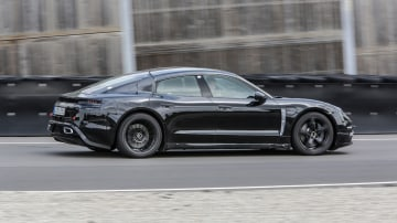 Mark Webber says the new Porsche Mission-E is 'a game changer'.
