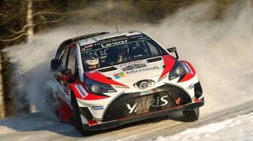 Jari-Matti Latvala won Rally Sweden in February.