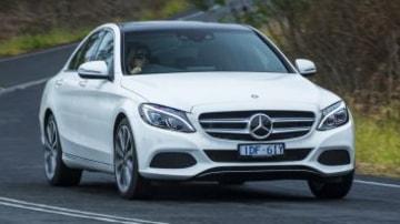 Mid-size luxury comparison test: Mercedes-Benz C250