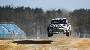 Volkswagen Polo World Rallycross entry.