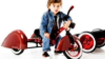 Trike for the tyke that has everything