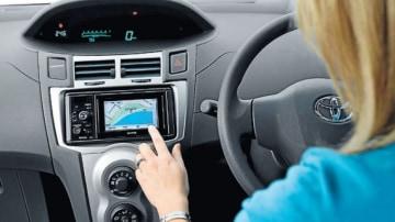 Toyota's new FollowMe navigation unit