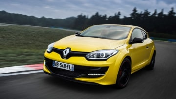 The Renault Megane RS 265.