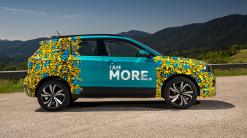 2019 Volkswagen T-Cross prototype.